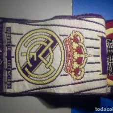 Coleccionismo deportivo: BUFANDA - FOULARD - F.C. - FUTBOL CLUB - REAL MADRID - PRODUCTO OFICIAL - 19 X 1,20 CM. Lote 265458759