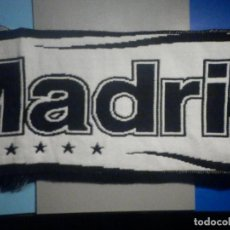 Coleccionismo deportivo: BUFANDA FOULARD - F.C. FUTBOL CLUB - REAL MADRID - PRODUCTO OFICIAL - 18 X 140 CM -. Lote 265478599