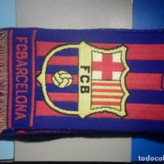 Coleccionismo deportivo: BUFANDA - FOULARD - FLAG - C.F - FUTBOL CLUB BARCELONA - BEST OF THE WORLD - 18 X 140 CM. Lote 265481364