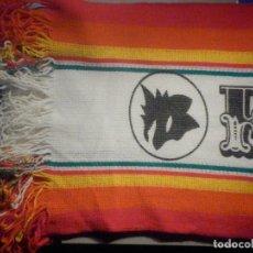 Coleccionismo deportivo: BUFANDA - FOULARD - FLAG - C.F - FUTBOL CLUB - FORZA ROMA - 29 X 130 CM. Lote 265483174
