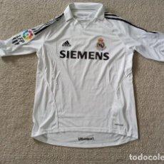 Coleccionismo deportivo: CAMISETA MATCH WORN ISSUE REAL MADRID RONALDO NAZARIO 2006 ZIDANE SHIRT FORMOTION. Lote 268318849