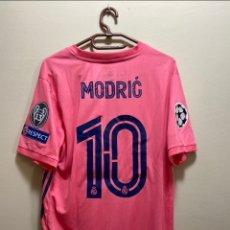 Coleccionismo deportivo: MODRIĆ REAL MADRID 20/21 CAMISETA PARTIDO USADA / MATCH WORN SHIRT V MANCHESTER CITY. Lote 268458999