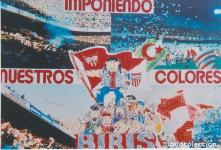 FOTOMONTAJE BIRIS NORTE SEVILLA ULTRAS HOOLIGANS (Coleccionismo Deportivo - Material Deportivo - Fútbol)