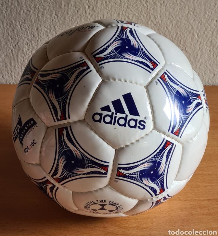 Coleccionismo deportivo: Balón Adidas Tricolore Mundial Fútbol Francia 1998 Official World Cup Ball Soccer - Foto 2 - 268845754