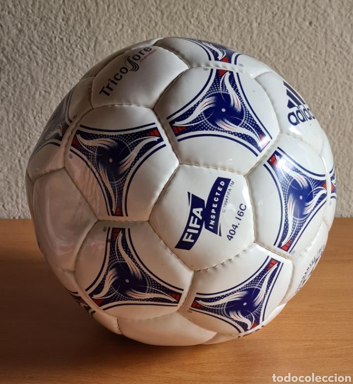 Coleccionismo deportivo: Balón Adidas Tricolore Mundial Fútbol Francia 1998 Official World Cup Ball Soccer - Foto 5 - 268845754