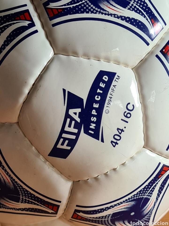 Coleccionismo deportivo: Balón Adidas Tricolore Mundial Fútbol Francia 1998 Official World Cup Ball Soccer - Foto 6 - 268845754