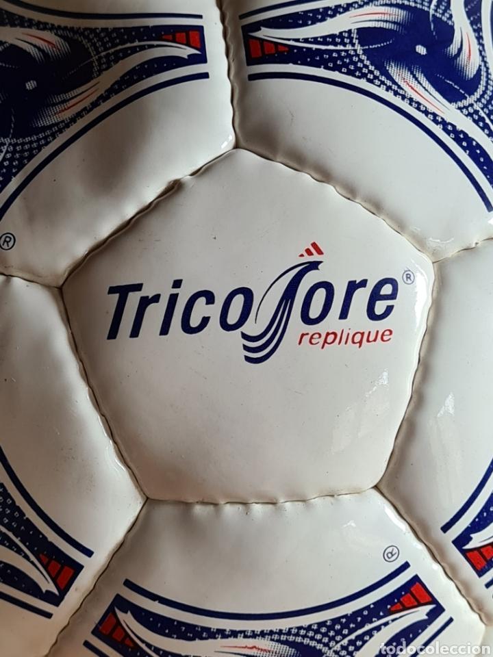 Coleccionismo deportivo: Balón Adidas Tricolore Mundial Fútbol Francia 1998 Official World Cup Ball Soccer - Foto 9 - 268845754