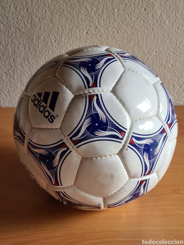Coleccionismo deportivo: Balón Adidas Tricolore Mundial Fútbol Francia 1998 Official World Cup Ball Soccer - Foto 16 - 268845754