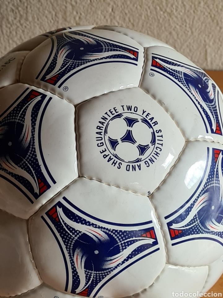 Coleccionismo deportivo: Balón Adidas Tricolore Mundial Fútbol Francia 1998 Official World Cup Ball Soccer - Foto 18 - 268845754