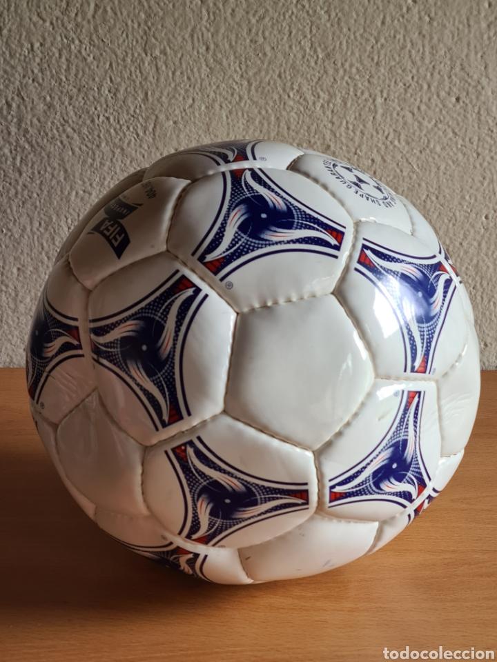 Coleccionismo deportivo: Balón Adidas Tricolore Mundial Fútbol Francia 1998 Official World Cup Ball Soccer - Foto 19 - 268845754