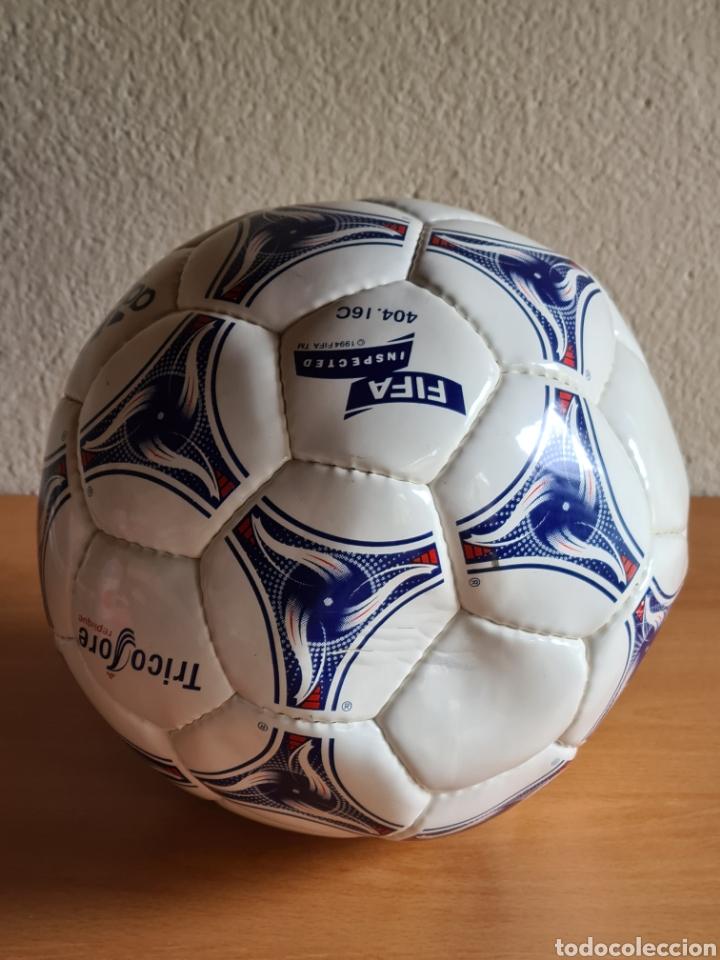 Coleccionismo deportivo: Balón Adidas Tricolore Mundial Fútbol Francia 1998 Official World Cup Ball Soccer - Foto 20 - 268845754