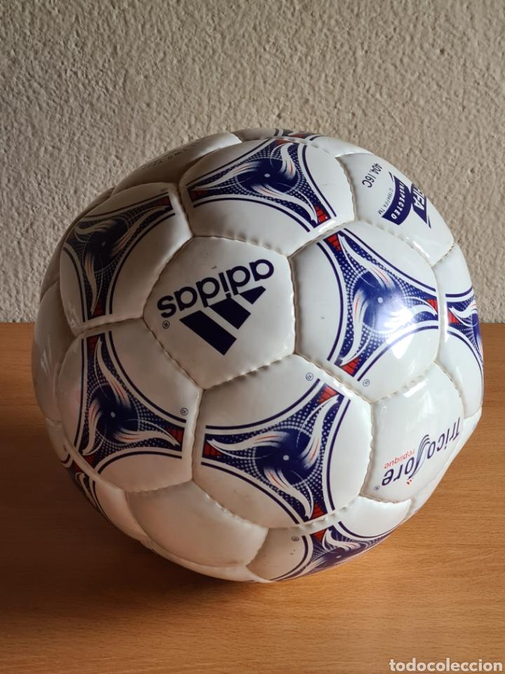 Coleccionismo deportivo: Balón Adidas Tricolore Mundial Fútbol Francia 1998 Official World Cup Ball Soccer - Foto 21 - 268845754