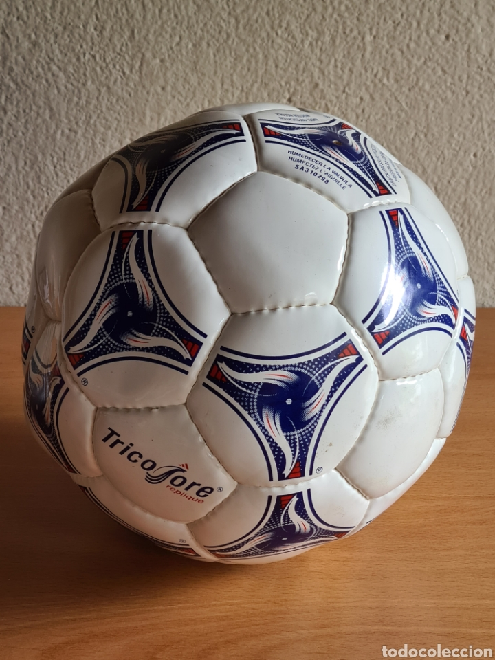Coleccionismo deportivo: Balón Adidas Tricolore Mundial Fútbol Francia 1998 Official World Cup Ball Soccer - Foto 22 - 268845754