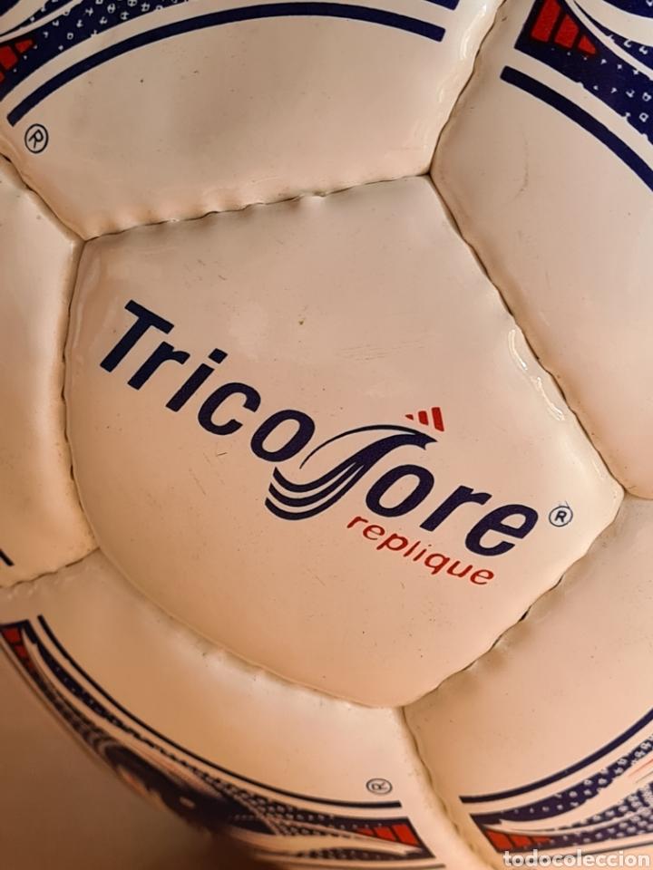 Coleccionismo deportivo: Balón Adidas Tricolore Mundial Fútbol Francia 1998 Official World Cup Ball Soccer - Foto 24 - 268845754
