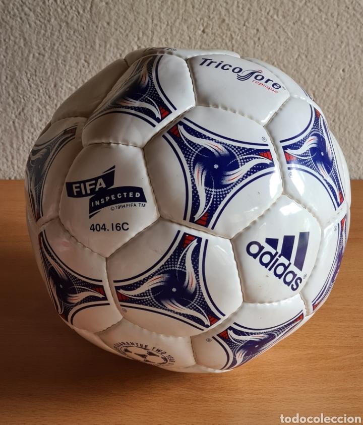 Coleccionismo deportivo: Balón Adidas Tricolore Mundial Fútbol Francia 1998 Official World Cup Ball Soccer - Foto 25 - 268845754