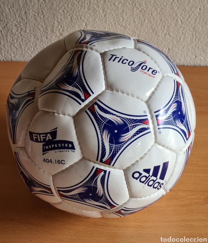 Coleccionismo deportivo: Balón Adidas Tricolore Mundial Fútbol Francia 1998 Official World Cup Ball Soccer - Foto 26 - 268845754