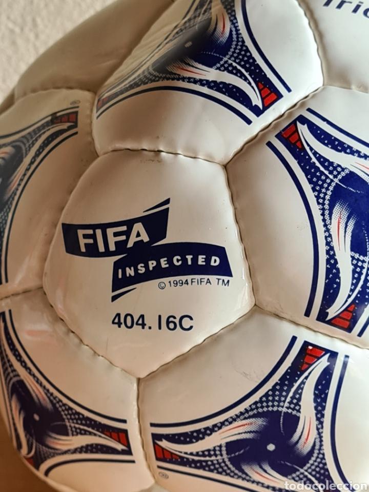 Coleccionismo deportivo: Balón Adidas Tricolore Mundial Fútbol Francia 1998 Official World Cup Ball Soccer - Foto 29 - 268845754