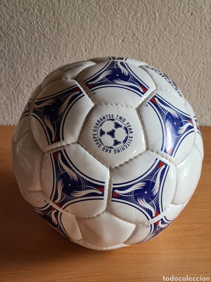 Coleccionismo deportivo: Balón Adidas Tricolore Mundial Fútbol Francia 1998 Official World Cup Ball Soccer - Foto 30 - 268845754