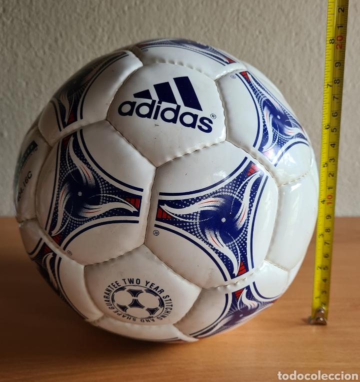 Coleccionismo deportivo: Balón Adidas Tricolore Mundial Fútbol Francia 1998 Official World Cup Ball Soccer - Foto 32 - 268845754
