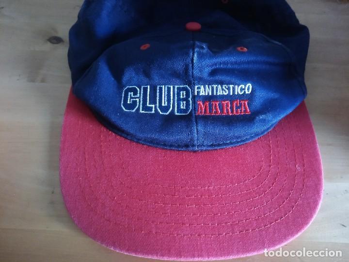 GORRA CLUB FANTÁSTICO MARCA (Coleccionismo Deportivo - Material Deportivo - Fútbol)