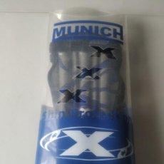 Coleccionismo deportivo: ESPINILLERAS MUNICH. NUEVAS, EN SU FUNDA.. Lote 268964229