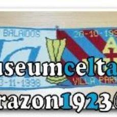 Coleccionismo deportivo: 13 BUFANDAS CONMEMORATIVAS CELTA DE VIGO. Lote 268977089