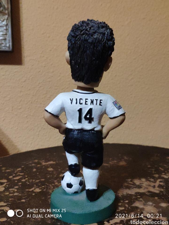 Coleccionismo deportivo: FIGURA FUTBOLISTA, VICENTE RODRÍGUEZ (VALENCIA C.F.) - Foto 2 - 269011369