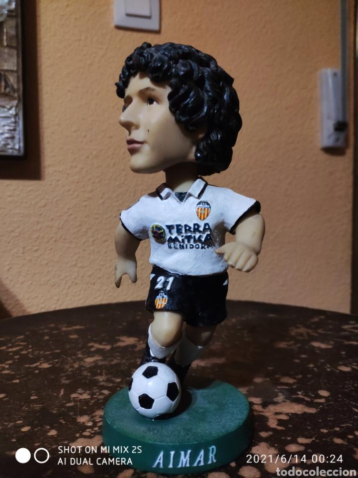 FIGURA FUTBOLISTA, PABLO AIMAR (VALENCIA C.F.) (Coleccionismo Deportivo - Material Deportivo - Fútbol)