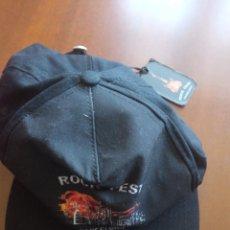Coleccionismo deportivo: GORRA ROCKFEST HEAVY METAL BARCELONA CAP. Lote 269046013
