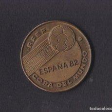 Coleccionismo deportivo: MONEDA ESPAÑA 82 MUNDIAL FUTBOL RFEF COPA DEL MUNDO - BRASIL CAMPEON 1958 1962 1970. Lote 269109843