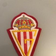 Coleccionismo deportivo: ANTIGUO PARCHE TELA CLUB FUTBOL SPORTING DE GIJON. Lote 269136153