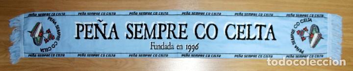 Coleccionismo deportivo: BUFANDAS DE PEÑAS DEL CELTA DE VIGO - Foto 37 - 269655713