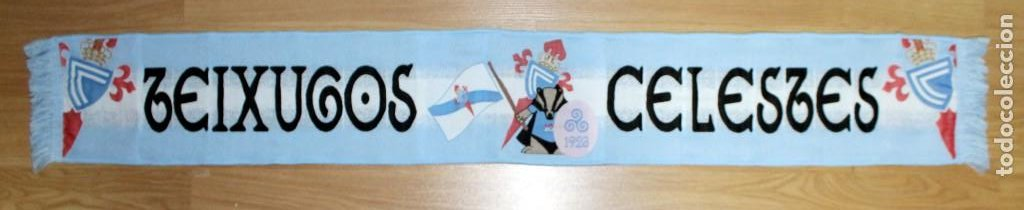 Coleccionismo deportivo: BUFANDAS DE PEÑAS DEL CELTA DE VIGO - Foto 39 - 269655713