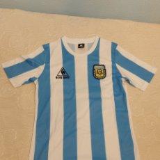 Coleccionismo deportivo: CAMISETA DE MARADONA, ARGENTINA, COA. Lote 270937333
