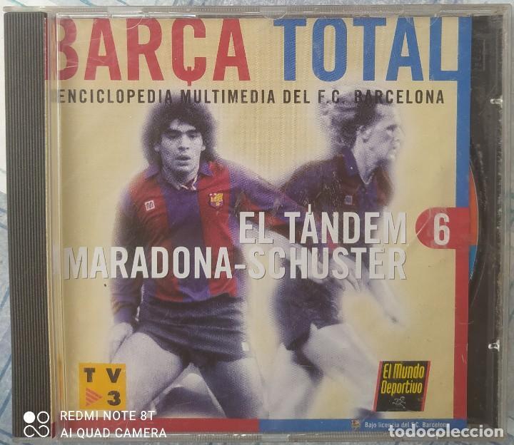 BARÇA TOTAL N.6 (Coleccionismo Deportivo - Material Deportivo - Fútbol)