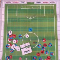 Colecionismo desportivo: JUEGO COMPLETO HERALDO DE ARAGON . GOLTAZO. 1995 SUPERCOPA ZARAGOZA- AJAX. TAZOS. OPORTUNIDAD UNICA. Lote 275550323
