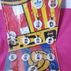 Coleccionismo deportivo: ANTIGUOS LLAVEROS FUTBOLISTAS. Lote 275797088
