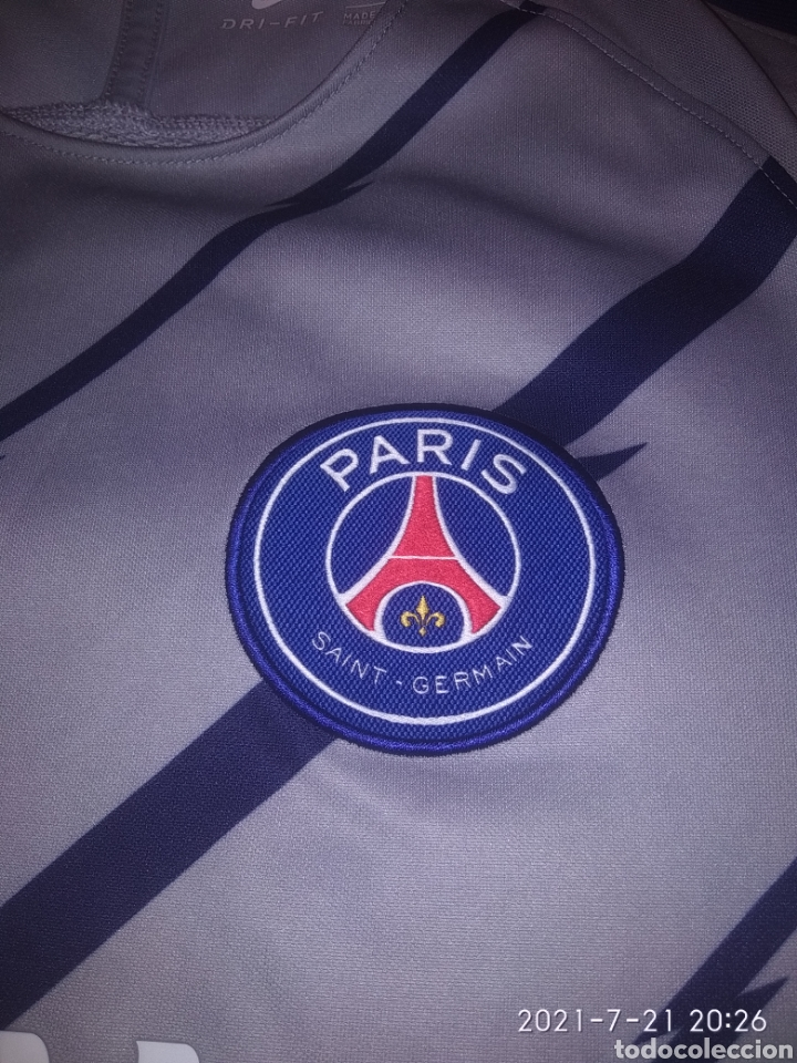 Coleccionismo deportivo: Camiseta PSG - Foto 2 - 276996523