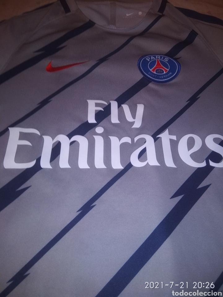 Coleccionismo deportivo: Camiseta PSG - Foto 5 - 276996523