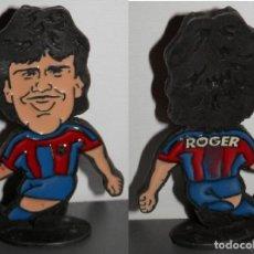 Coleccionismo deportivo: FIGURA METÁLICA DEL FUTBOL CLUB BARCELONA DE LA TEMPORADA 1998/99 - ROGER. Lote 277160698