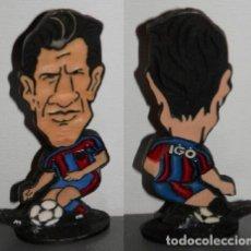 Coleccionismo deportivo: FIGURA METÁLICA DEL FUTBOL CLUB BARCELONA DE LA TEMPORADA 1998/99 - FIGO. Lote 277160968