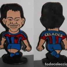 Coleccionismo deportivo: FIGURA METÁLICA DEL FUTBOL CLUB BARCELONA DE LA TEMPORADA 1998/99 - CELADES. Lote 277161208