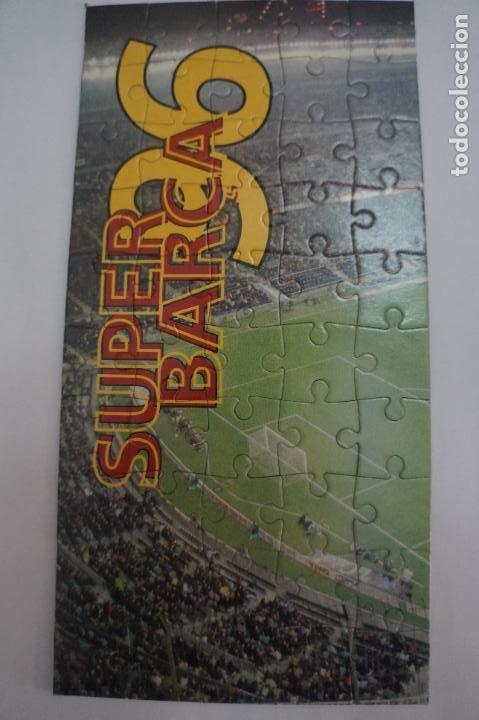 PUZZLE DE ESTADIO DEL F.C.BARCELONA SUPER BARÇA 96 DEL MUNDO DEPORTIVO HAZTE CON EL (Coleccionismo Deportivo - Material Deportivo - Fútbol)