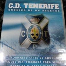 Coleccionismo deportivo: CD TENERIFE DVD ASCENSO A PRIMERA. Lote 277629293