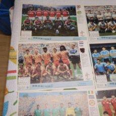 Coleccionismo deportivo: POSTER DE LA SELECCIÓN ESPAÑOLA DE FÚTBOL ITALIA 1990 Y OTROS 23 MÁS DE SELECCIONES DEL MUNDIAL. Lote 278296743