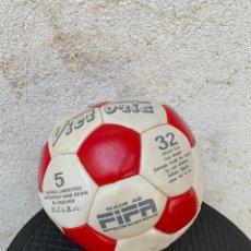 Coleccionismo deportivo: BALON VICTORIA FIFA QUIZAS ATLETICO MADRID TEMPORADA 1988 1 DIVISION BALTAZAR RESINO FIRMAS 20CMS. Lote 281035628