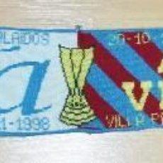Coleccionismo deportivo: BUFANDA CONMEMORATIVA CELTA DE VIGO - ASTON VILLA. Lote 287395698
