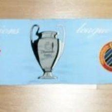 Coleccionismo deportivo: BUFANDA CONMEMORATIVA CHAMPIONS LEAGUE 2003/04 CELTA DE VIGO, MILÁN, AJAX Y BRUGGE. Lote 287396038