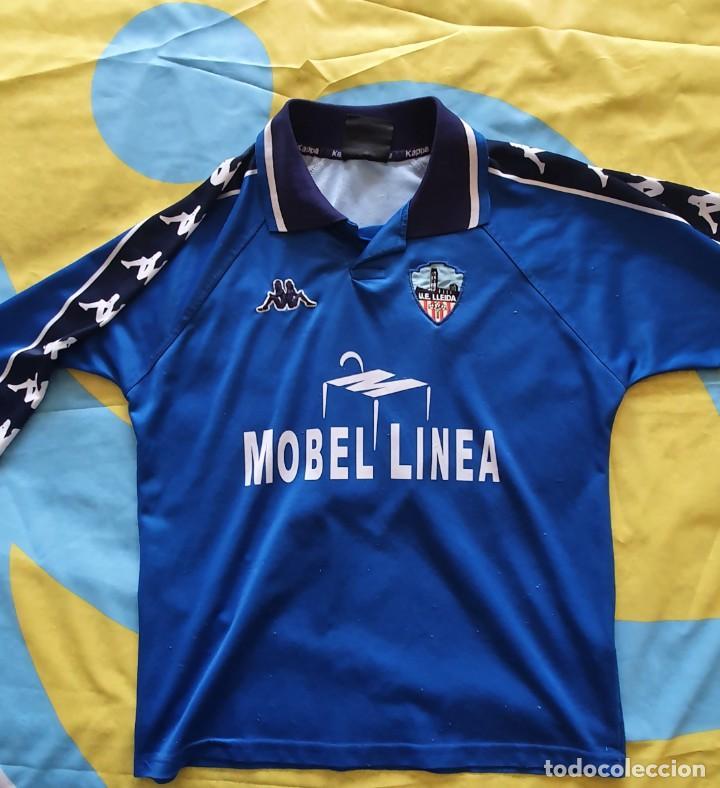 CAMISETA MATCH WORN SHIRT LLEIDA (Coleccionismo Deportivo - Material Deportivo - Fútbol)