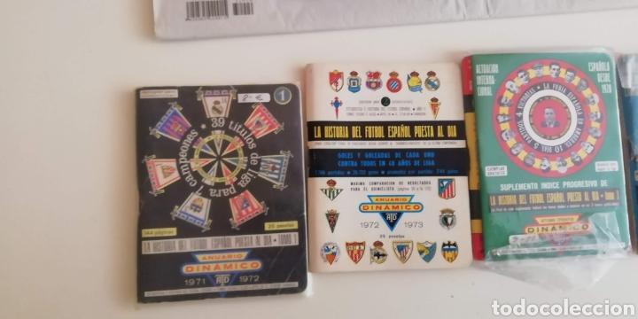 Coleccionismo deportivo: Calendario Dinámico fútbol 1970 a 1990 . La biblia fútbol español - Foto 2 - 287938973
